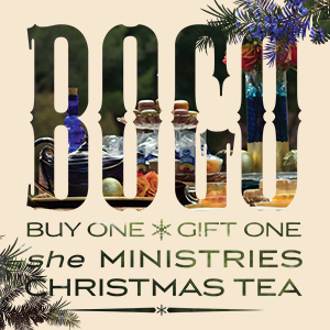 she Ministries Christmas Tea Series Art