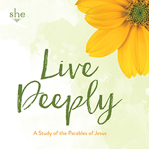 Live Deeply: A Study of the Parables of Jesus - 2018 Series Art
