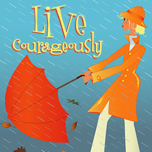 Live Courageously: A study in Joshua Series Art