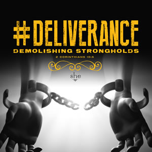 #Deliverance: Demolishing Strongholds Series Art