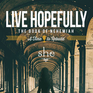 Live Hopefully : A Study in the Book of Nehemiah Series Art