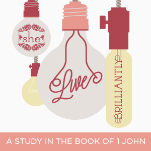 Live Brilliantly: A Study in the Book of 1 John Series Art